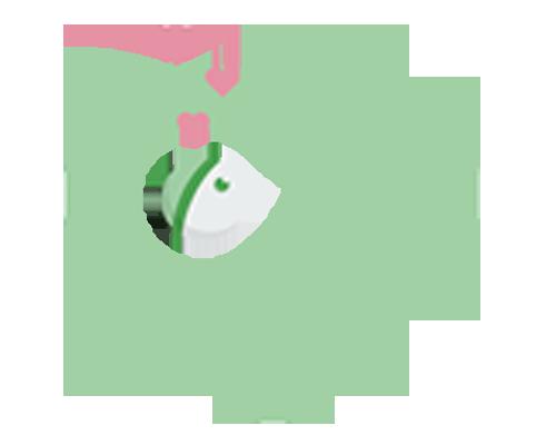 ChooMee Baby Starter Spoon - Aqua Green, Pack Of 2